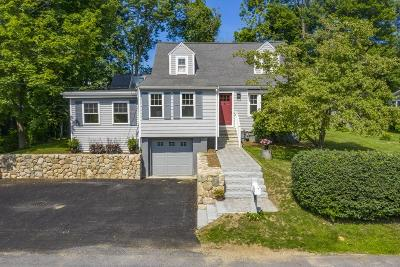 Cohasset MA Single Family Home For Sale: $624,900