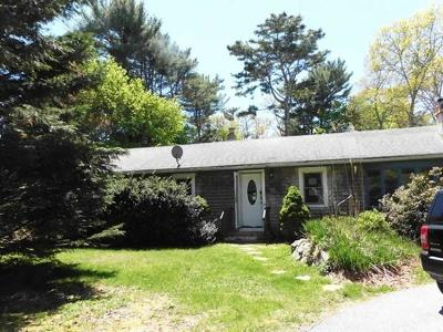 Falmouth Single Family Home Under Agreement: 38 Hayway Rd