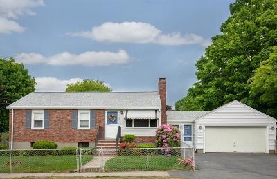 Braintree Single Family Home For Sale: 25 Cain Avenue