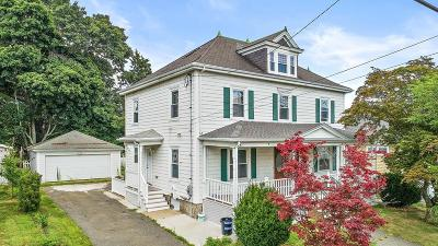 Quincy Single Family Home For Sale: 72 Standish Ave