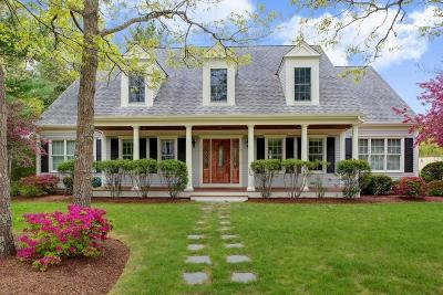 MA-Barnstable County Single Family Home For Sale: 17 Cashs Trail