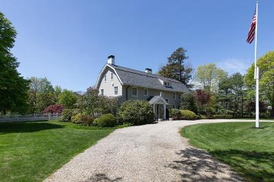 Cohasset MA Single Family Home For Sale: $2,799,000