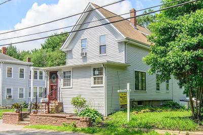 Brockton Single Family Home For Sale: 283 W Chestnut St
