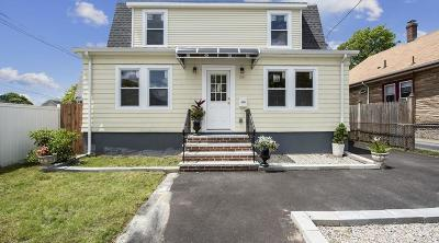 Quincy Single Family Home For Sale: 68 Arnold Street