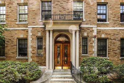 Cambridge Condo/Townhouse For Sale: 850 Massachusetts Ave #2
