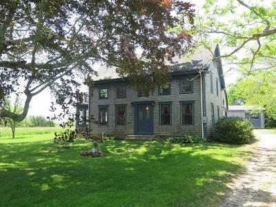 MA-Bristol County Single Family Home For Sale: 1 Old Horseneck Rd