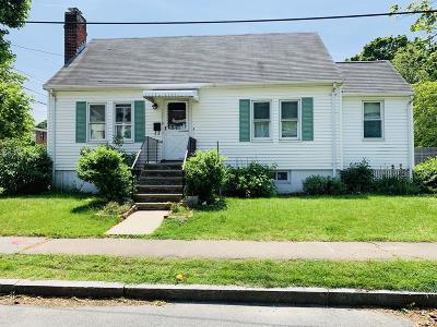 Quincy Single Family Home For Sale: 9 Russell St