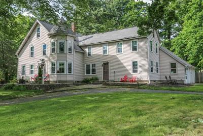 Hudson Single Family Home Under Agreement: 223 Central St