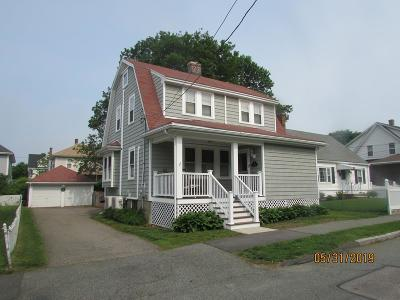 Quincy Single Family Home For Sale: 66 Sachem St