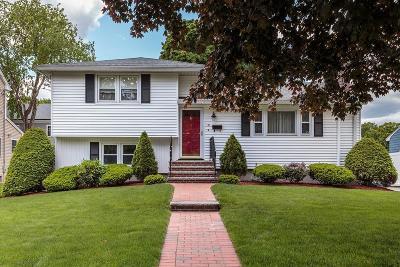 Arlington MA Single Family Home For Sale: $719,000