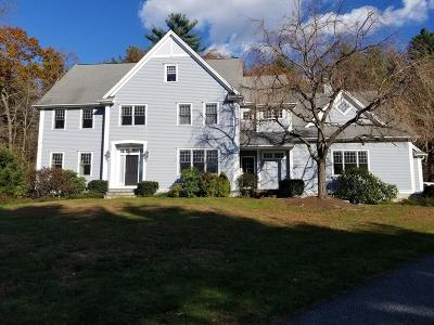 Sherborn Single Family Home For Sale: 167 S Main St