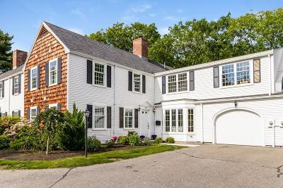Brookline MA Condo/Townhouse For Sale: $1,598,500