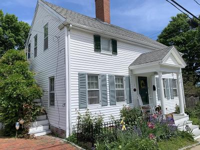 Plymouth Single Family Home For Sale: 1 Mt Pleasant St