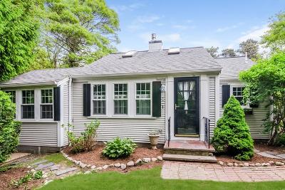 Barnstable Single Family Home For Sale: 64 Harrison Rd