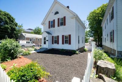 Brockton Single Family Home For Sale: 198 Prospect Street