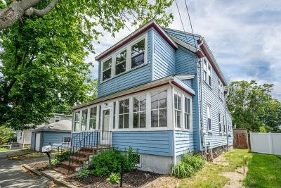 Quincy Single Family Home For Sale: 9 Brockton Ave