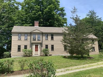 Sudbury Single Family Home New: 150 Concord Road