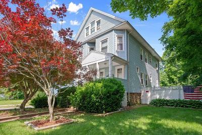 Dedham Multi Family Home For Sale: 157-159 Colburn Street