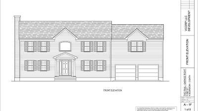MA-Bristol County Single Family Home New: Lot 1 Avis Street