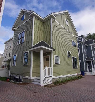 Somerville Single Family Home For Sale: 12 Warwick Street #B
