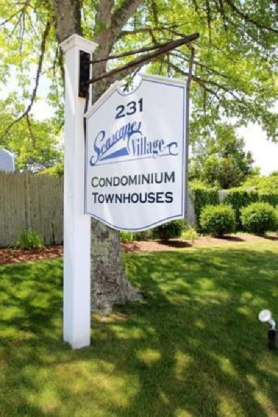 Harwich Condo/Townhouse For Sale: 231 Route 28 #20