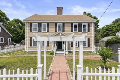 Canton Single Family Home For Sale: 1458 Washington St