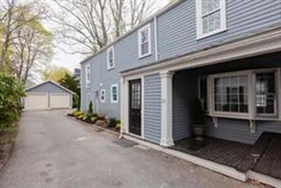 Dedham Single Family Home For Sale: 22 Church Street #22