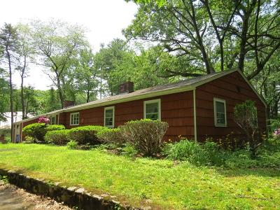 Wayland Single Family Home For Sale: 135 Old Connecticut Path