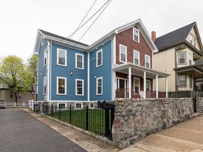 Boston MA Single Family Home For Sale: $1,145,000