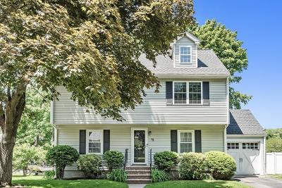 Arlington MA Single Family Home For Sale: $898,000