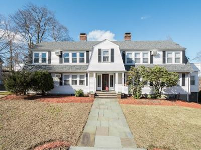 Newton Condo/Townhouse For Sale: 1145 Boylston St #2
