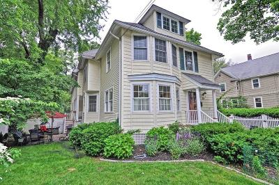 Wellesley Single Family Home For Sale: 24 Kingsbury Street #Front