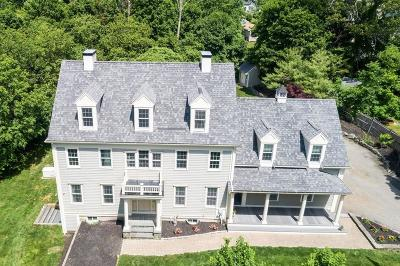 Hingham Single Family Home For Sale: 88 Wompatuck Road