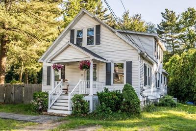 Billerica Single Family Home Contingent: 22 Sprague St