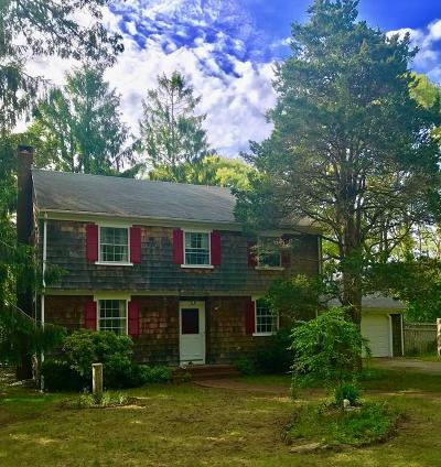 Single Family Home For Sale: 19 Saconesset