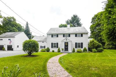 Dedham Single Family Home For Sale: 8 Channing Road