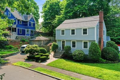 Melrose Single Family Home For Sale: 63 Woodland Ave