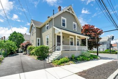 Melrose Single Family Home Under Agreement: 33 East Emerson Street