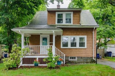 Braintree Single Family Home For Sale: 58 Arthur St