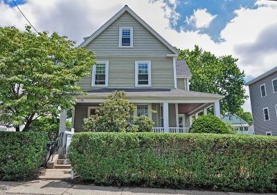 Watertown MA Single Family Home Price Changed: $799,000
