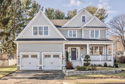 Needham Single Family Home For Sale: 89 Bird Street