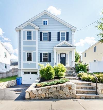 Belmont Single Family Home For Sale: 34 Merrill Ave