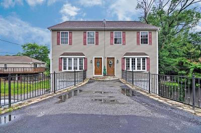 Worcester Single Family Home Contingent: 82 Valmor St