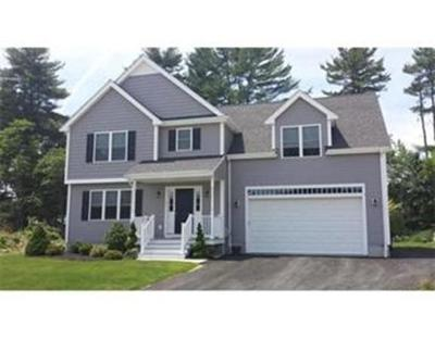 Norwell MA Single Family Home For Sale: $796,000