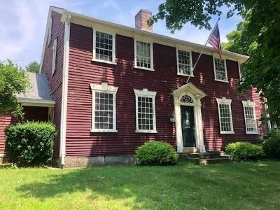 Wrentham Single Family Home For Sale: 121 East St.