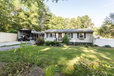 West Brookfield Single Family Home For Sale: 121 New Braintree Rd