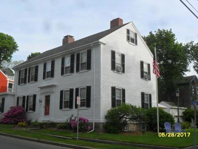 Rockport Rental For Rent: 20 Mount Pleasant Street #1