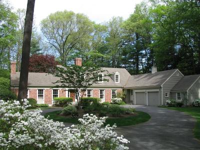 Wellesley Single Family Home For Sale: 3 Winding River Cir