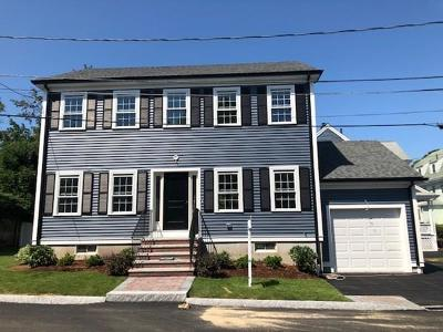 Waltham Condo/Townhouse For Sale: 9 Grant Place #2
