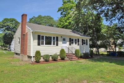 Randolph Single Family Home For Sale: 370 Center Street